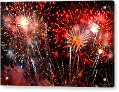 Explode Acrylic Print by Diana Angstadt