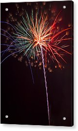 Exploding Colors Acrylic Print by Garry Gay