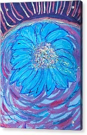 Explosion Of Color Acrylic Print by Anne-Elizabeth Whiteway
