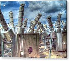 Exterminate - Exterminate Acrylic Print by MJ Olsen