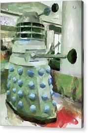 Exterminate Acrylic Print by Steve Taylor