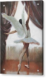 Exultation Acrylic Print by Anna Rose Bain
