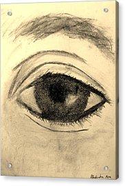 Eye Acrylic Print by Alexandra Herr