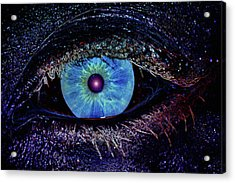 Eye In The Sky Acrylic Print by Joann Vitali