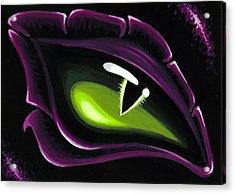 Eye Of Ena Acrylic Print by Elaina  Wagner