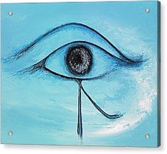 Eye Of Horus In The Sky Acrylic Print by David Junod