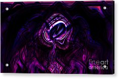 Eye Of The Dream Acrylic Print by Ashantaey Sunny-Fay
