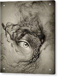 Eye Of The I Acrylic Print by Gun Legler
