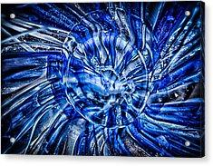 Eye Of The Storm Acrylic Print by Omaste Witkowski