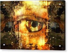 Eye See You Acrylic Print by Gun Legler