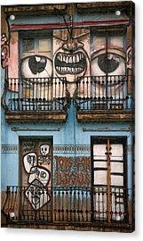 Eyes Of Barcelona Acrylic Print by Joanna Madloch