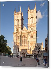 Facade Of A Cathedral, Westminster Acrylic Print by Panoramic Images