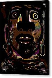 Face 15 Acrylic Print by Natalie Holland