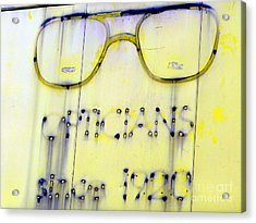 Fading Vision Acrylic Print by Ed Weidman