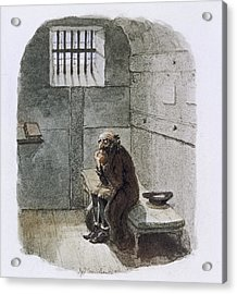 Fagin In Prison Acrylic Print by British Library