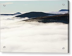 Fairfield From Red Screes Acrylic Print by Ashley Cooper