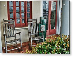Fairhope Courier Acrylic Print by Michael Thomas