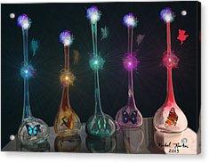 Fairy Dust Acrylic Print by Michael Rucker