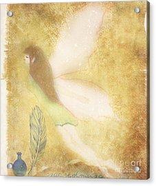 Fairy Folk Magic Acrylic Print by Sacred  Muse