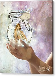 Fairy Acrylic Print by Juli Scalzi