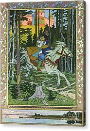 Fairy-tale Illustration  Acrylic Print by Pg Reproductions