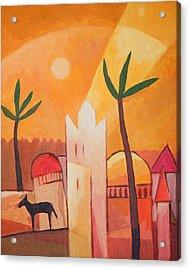 Fairytale Village Acrylic Print by Lutz Baar