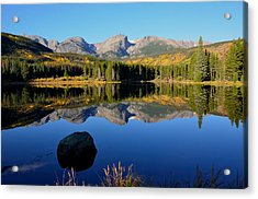 Fall At Sprague Lake Acrylic Print by Tranquil Light  Photography