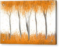 Fall Acrylic Print by Kume Bryant