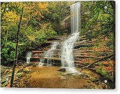 Fall Water Acrylic Print by Doug McPherson