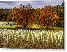 Fallen Soldiers Acrylic Print by Ryan Wyckoff