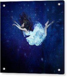 Falling Into Dream Acrylic Print by Anka Zhuravleva
