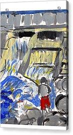 Falls Acrylic Print by Samuel Zylstra
