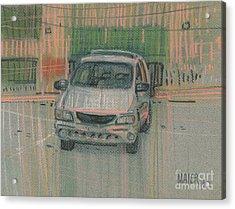 Family Car Acrylic Print by Donald Maier