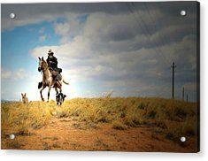 Family Day Acrylic Print by Diana Angstadt