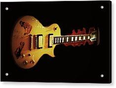 Famous Guitar Acrylic Print by Patricia Januszkiewicz