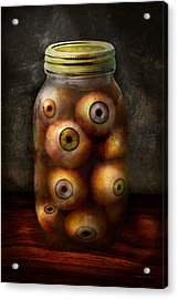 Fantasy - Creepy - I've Always Had Eyes For You Acrylic Print by Mike Savad