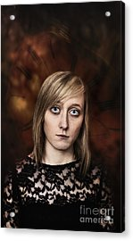 Fantasy Portrait Acrylic Print by Amanda And Christopher Elwell