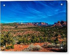 Far View Acrylic Print by Jon Burch Photography