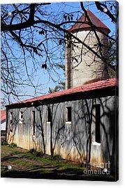 Farm Shadows Acrylic Print by Amy Stuart Langlo