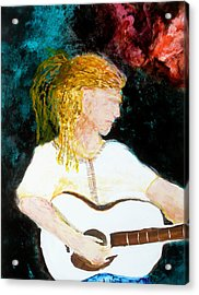 Farmers Daughter Acrylic Print by Keith Thue