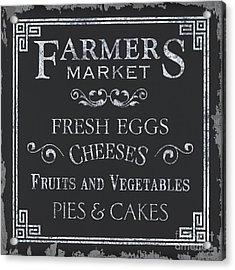 Farmers Market Acrylic Print by Debbie DeWitt