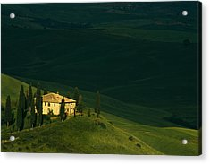 Farmhouse Tuscan Acrylic Print by Andrew Soundarajan