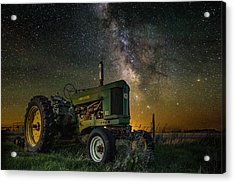 Farming The Rift 3 Acrylic Print by Aaron J Groen