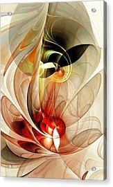 Fascinated Acrylic Print by Anastasiya Malakhova