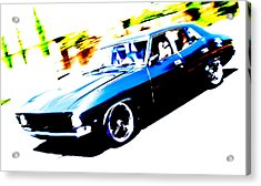 Fast Ford Falcon Acrylic Print by Phil 'motography' Clark