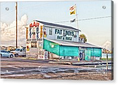 Fat Boys Acrylic Print by Scott Pellegrin