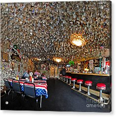 Fat Smittys Interior Acrylic Print by Gregory Dyer