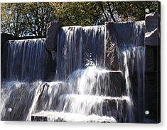 Fdr Memorial - Washington Dc - 01131 Acrylic Print by DC Photographer