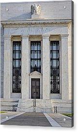Federal Reserve Acrylic Print by Susan Candelario