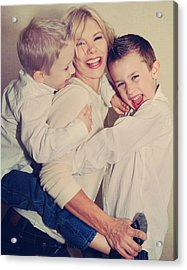 Feel The Joy Acrylic Print by Laurie Search
